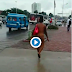 Newly Mad Woman Walks The Street Of Lagos Naked...Men Scamper To Cover Her Up (18+ Video)