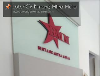 Lowongan Kerja CV Bintang Mitra Mulia Surakarta Solo 2020