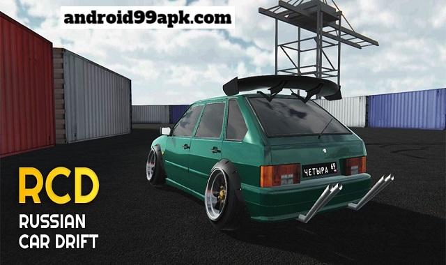 لعبة السباق Russian Car Drift v1.8.6 مهكرة بحجم 104 MB للاندرويد