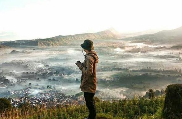 Objek Wisata Alam Gunung Putri Lembang