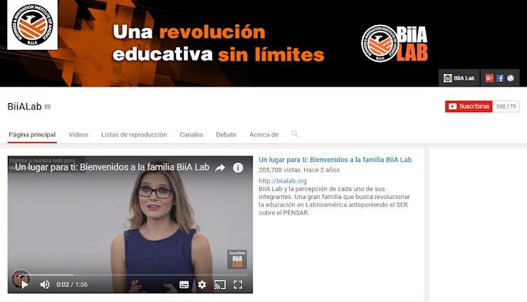 Youtube BiiA Lab