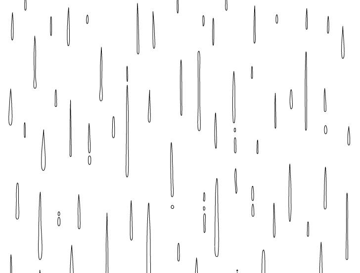 Hujan anime menggambar