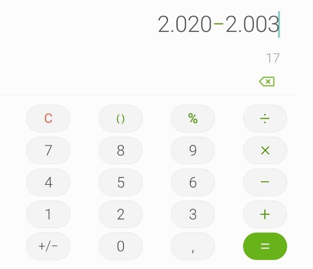 Viral tantangan menghitung umur menggunakan kalkulator di media sosial