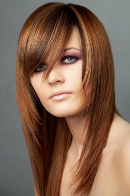 Model+rambut+layer+panjang+untuk+wajah+bulat