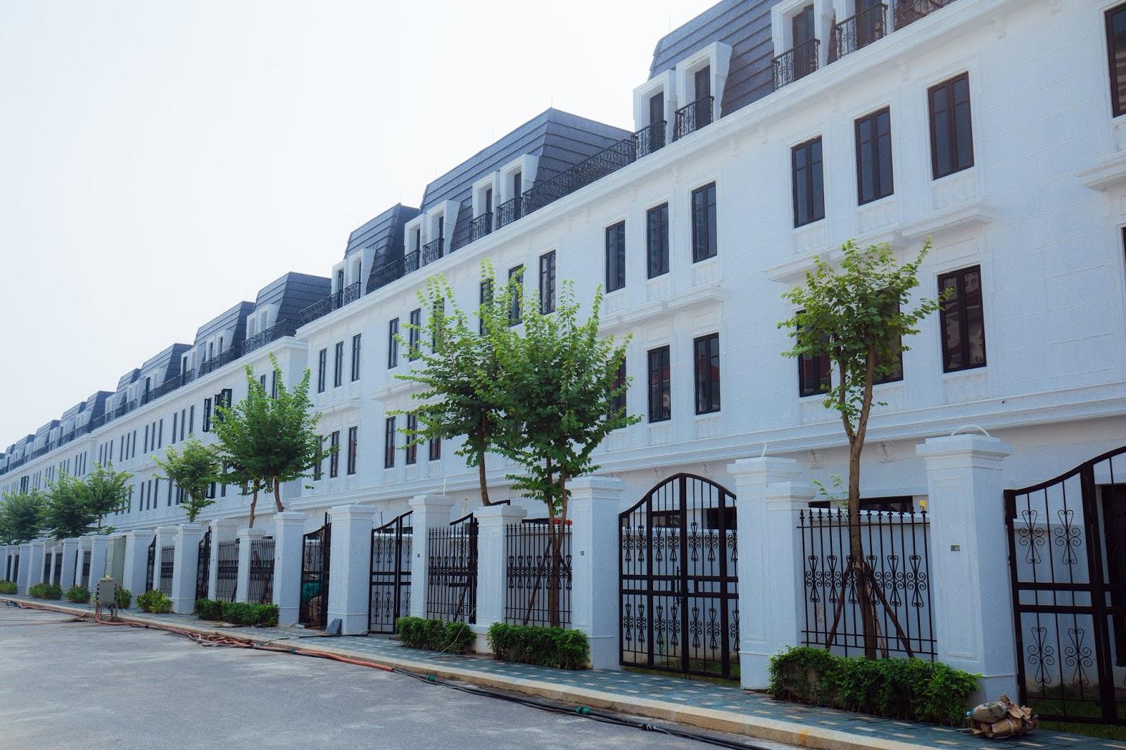 Một số hình ảnh khu Biệt thự, Shophouse Embassy Garden Tây Hồ Tây