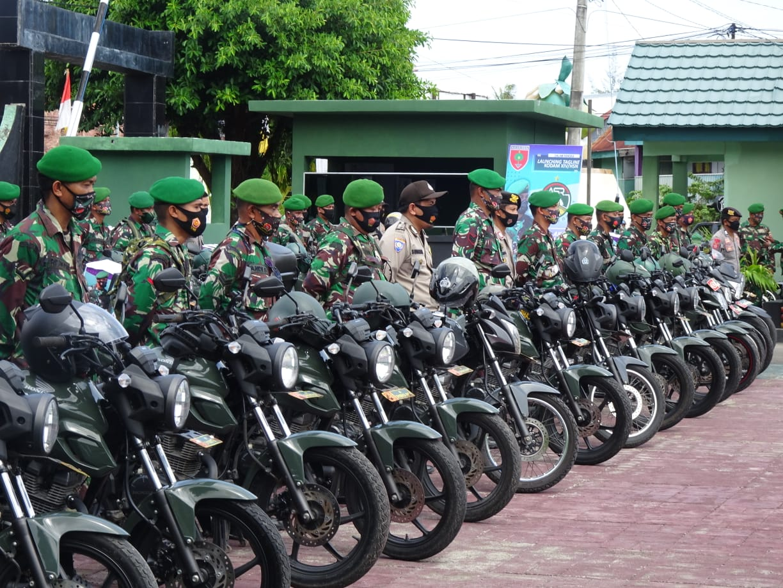 Kodim 1415 Selayar Launching Tagline 'Aku Sahabat Rakyat'