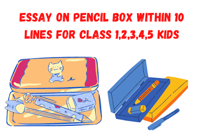 Essay on Pencil Box