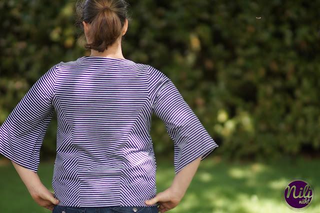 Pine von shhhout - Pulli - Damenpullover - Übergangspulli - Streifenshirt - Sommershirt - Pullover