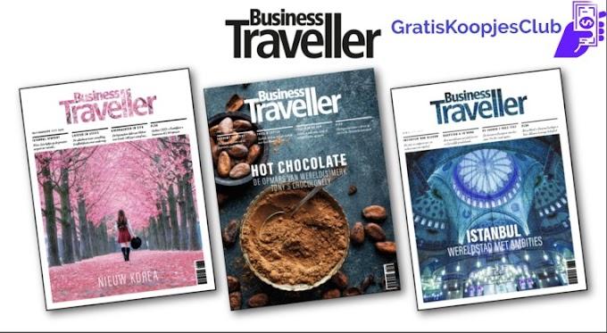 Gratis Magazine Business Traveler Ter Waarde Van 42,95 Euro