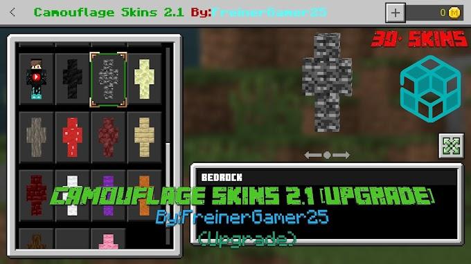 Camouflage Skins 2.1 (Upgrade) (Skin Pack)
