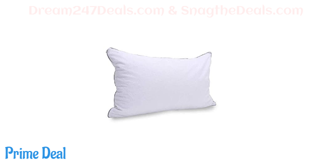 60% OFF Shredded Latex Pillow with Removable Premium Bamboo Terry Pillow Protector