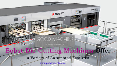 Second Hand Offset Printing Machine From Europe Bobst Die Cutting