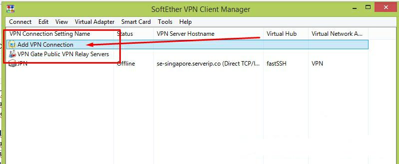 Fungsi dan Cara Menggunakan Softether VPN Client Manager