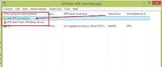 Cara Menambahkan Akun Softether VPN