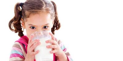 Consumo leche alimentación