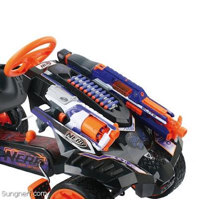 Xe Đồ Chơi Nerf Battle Racer
