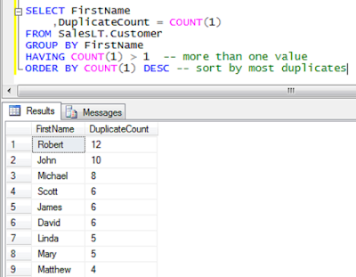 SQL GROUP BY and HAVING Example - Write SQL Query to find Duplicate Emails - LeetCode Solution