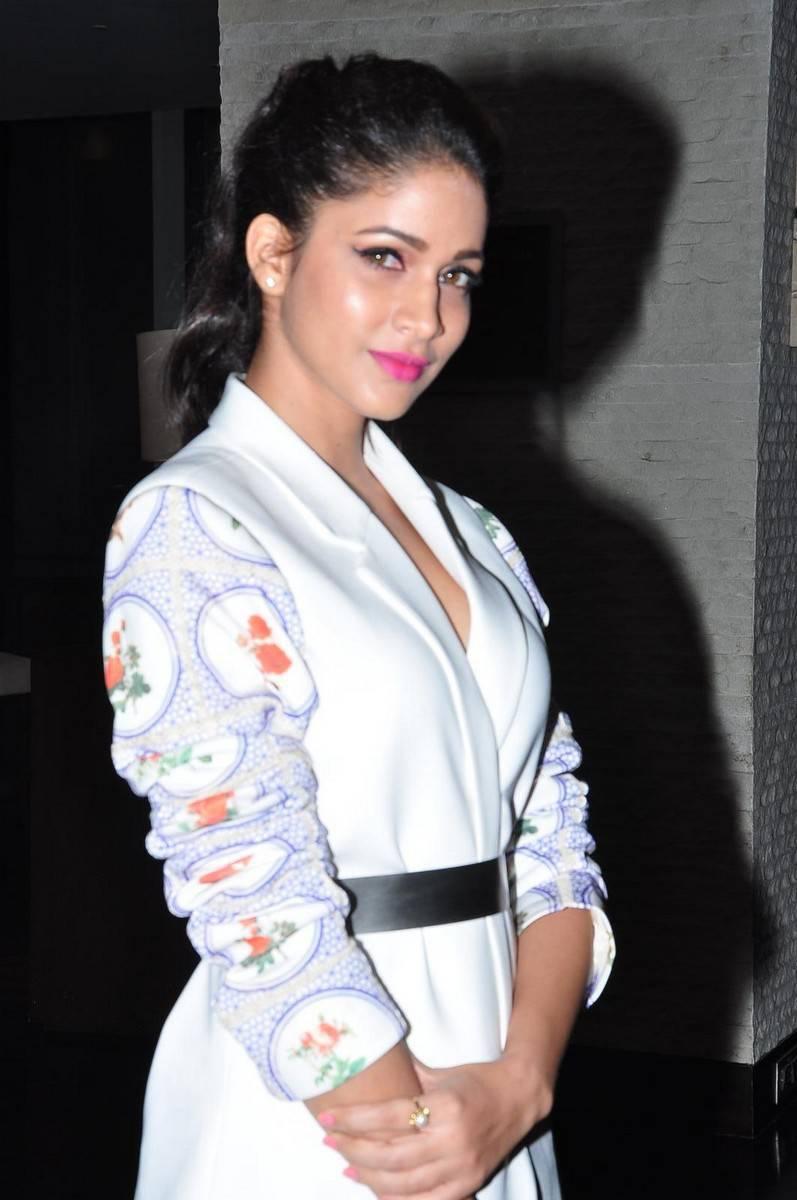 Lavanya Tripathi Smiling Photos Stills In White Dress
