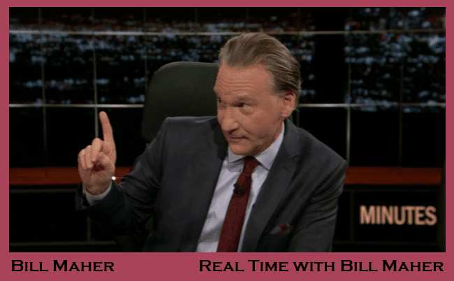 Bill Maher on HBO's Real Time with Bill Maher 1-18-2013