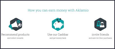 Gana dinero con Aklamio