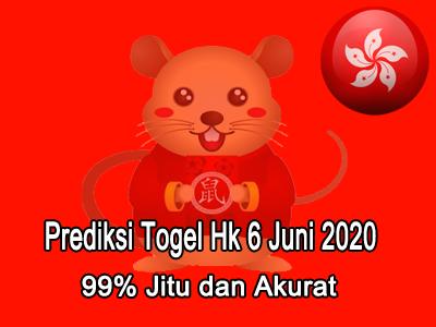Prediksi Togel Hk 6 Juni 2020
