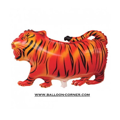 Balon Foil Macan / Harimau