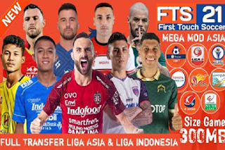 FTS 21 Mod Liga Asia & Liga Indonesia Full Transfer 2020