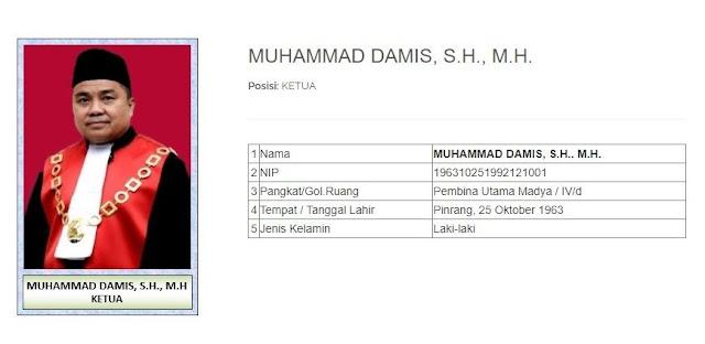 Naik Drastis! Segini Kekayaan Muhammad Damis, Hakim yang Vonis Eks Mensos Juliari 12 Tahun