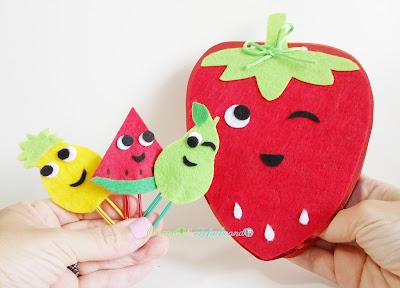 Ideas regreso a clase con frutas