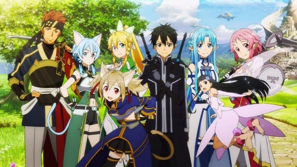 All Ost] Sword Art Online SS2 (ALO & GGO)