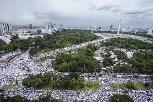Pulang dari Australia, Inilah Pujian Presiden Jokowi kepada Peserta Aksi 212