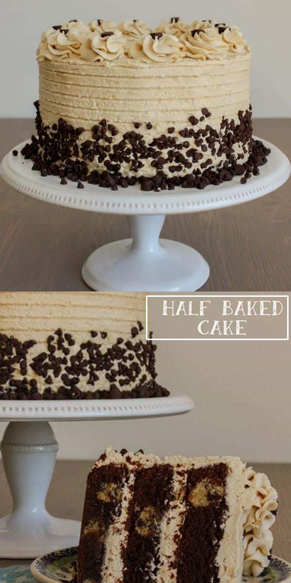 Half Baked Cake #Cakerecipes