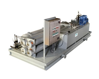 self contained hydraulic power unit for valve and damper actuation