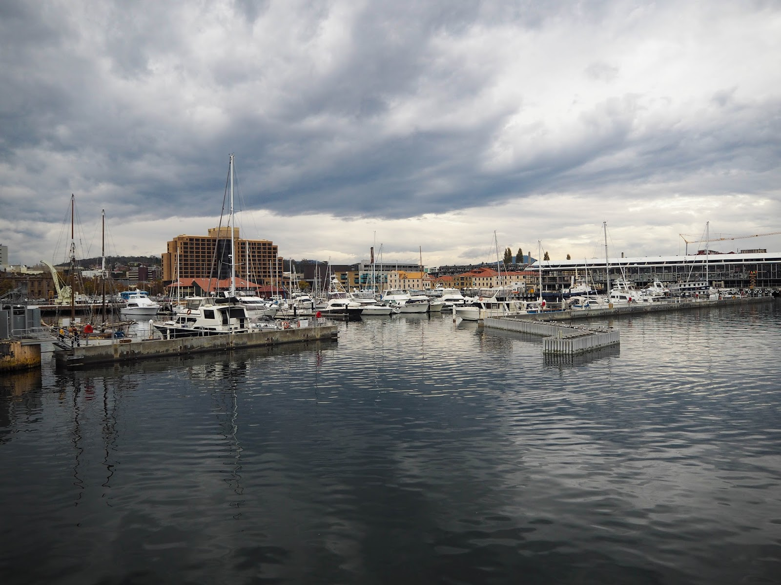 Hobart harbourside, Tasmania