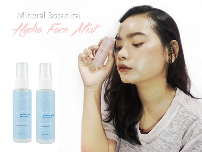 Review Mineral Botanica Hydra Brightening & Acne Care Face Mist