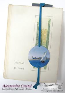 segnalibro elastico barca