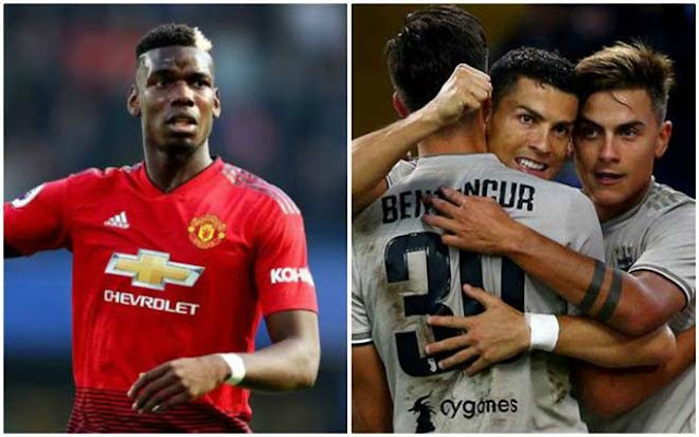 Pogba mưu đào thoát MU: Juventus - Sarri lập tam tấu Ronaldo - Dybala - Pogba 2