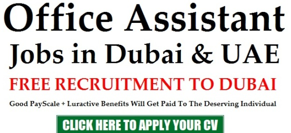 Jobs in Dubai: Apply for Office Assistant Jobs at Emirates Logistics [Free Visa]