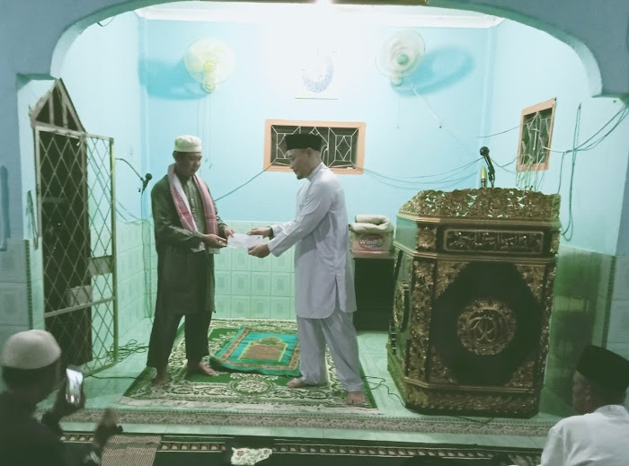DPD Partai NasDem Kota Lubuklinggau Melakukan Kegiatan Safari Ramadhan di masjid Abnu Suridho
