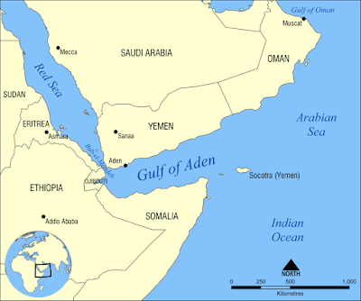Gulf (and port!) of ADEN