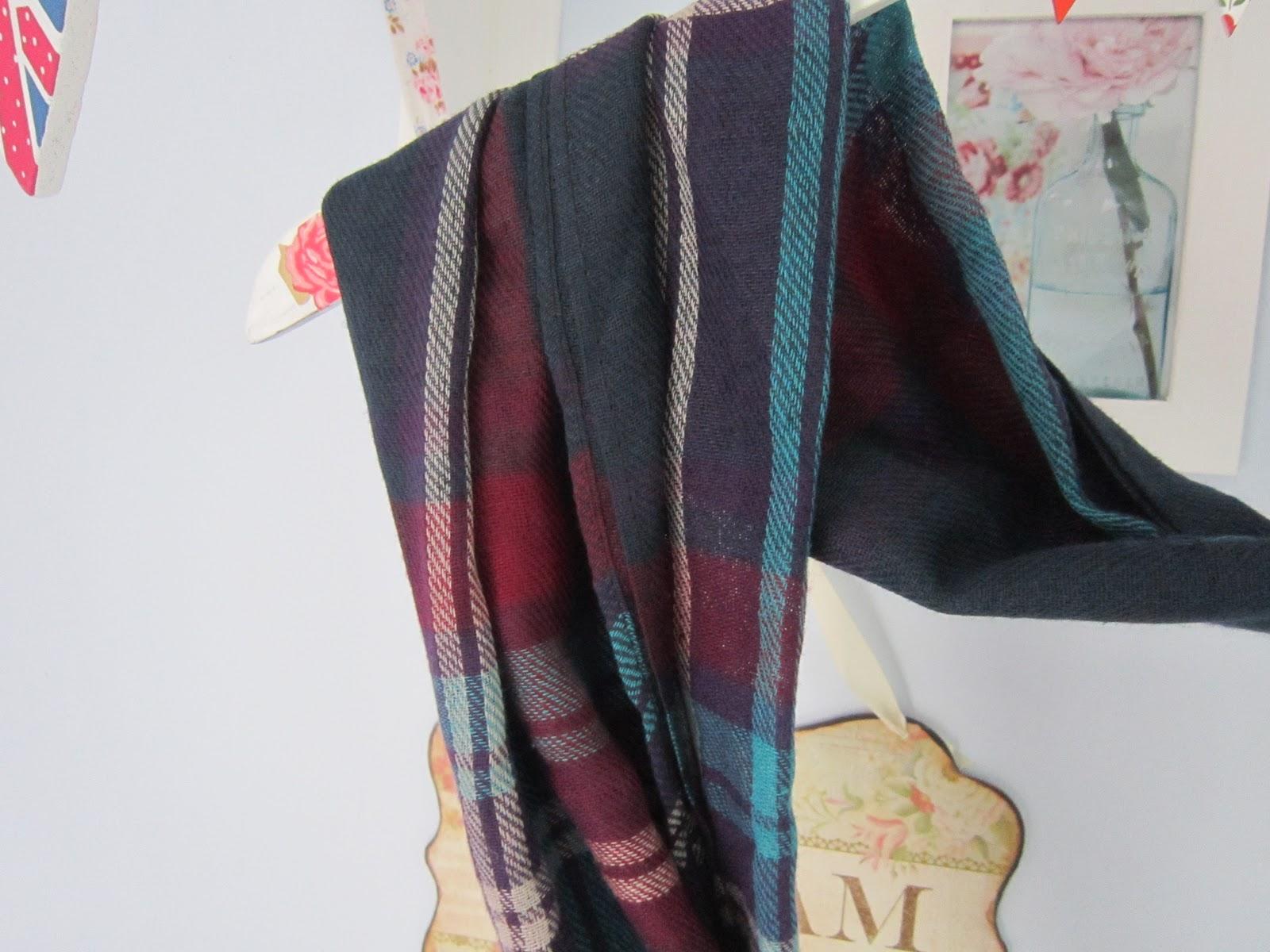 My New Primark Winter Coat Tartan Scarf Victoria S