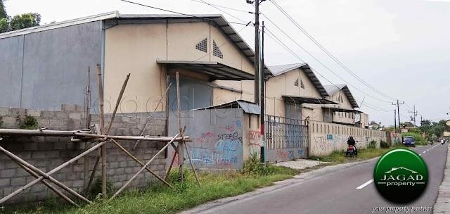 Gudang dekat Pabrik Gula Madukismo, Bantul