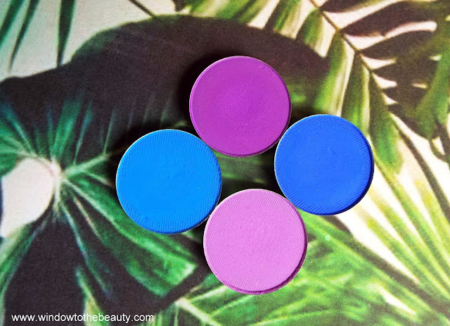 Coloured Raine single matte eyeshadows review