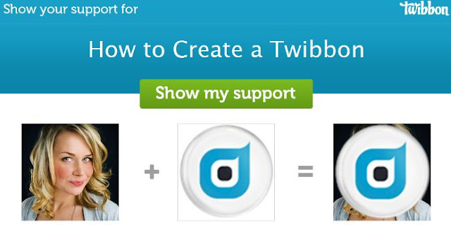 Cara Membuat Twibbon Simple