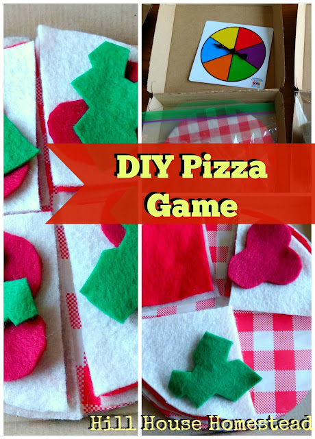 DIY Pizza Game