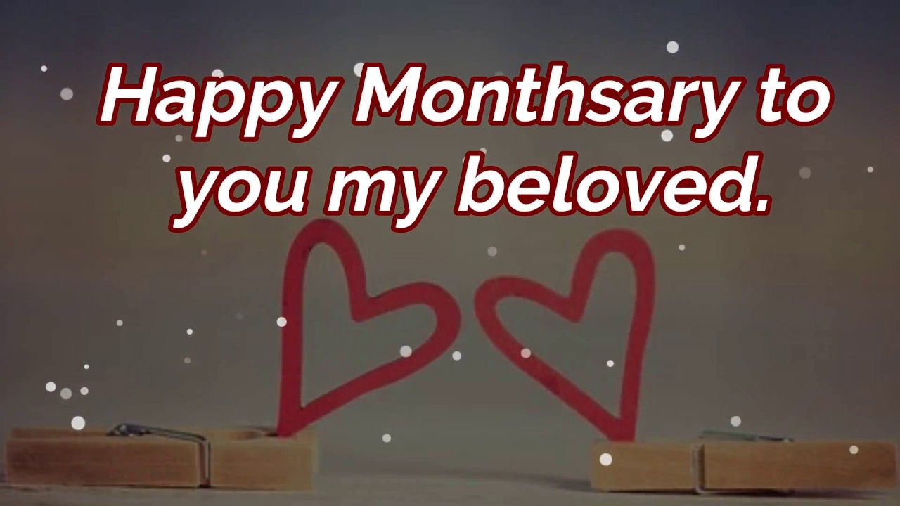 Monthsary Message and Romantic Quotes For Boyfriend