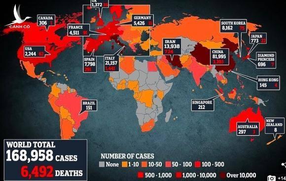 Số ca tử vong, nhiễm mới Covid-19 tăng chưa từng có ở nhiều nước