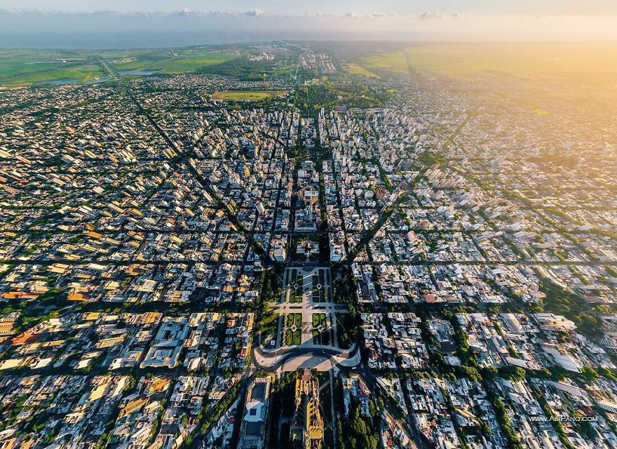 Beautiful Panoramic Pictures Of 20 Famous Cities - La Plata, Argentina