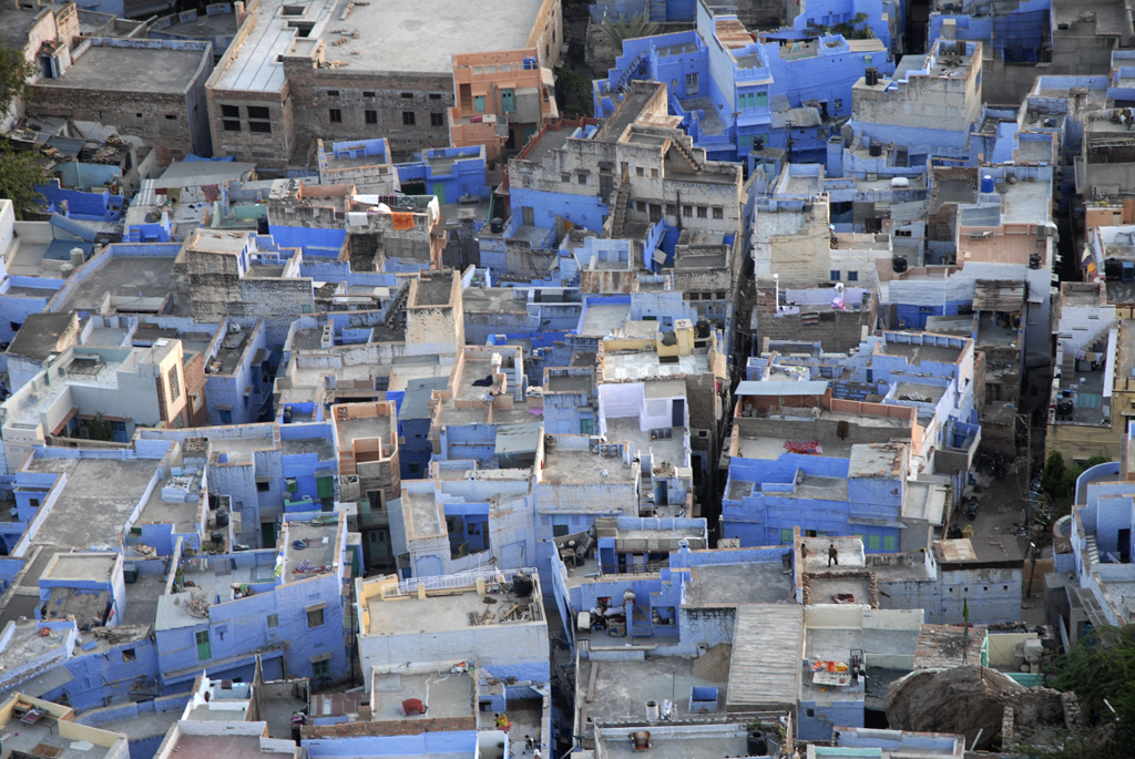 Jodhpur in India submitted to the photo contest 'Colours Of India' on Better Photography.