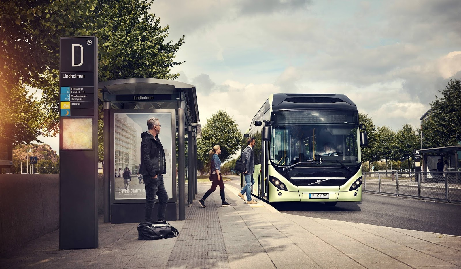 Volvo vende sistema de ônibus elétrico para Namur, na ... - photo#13